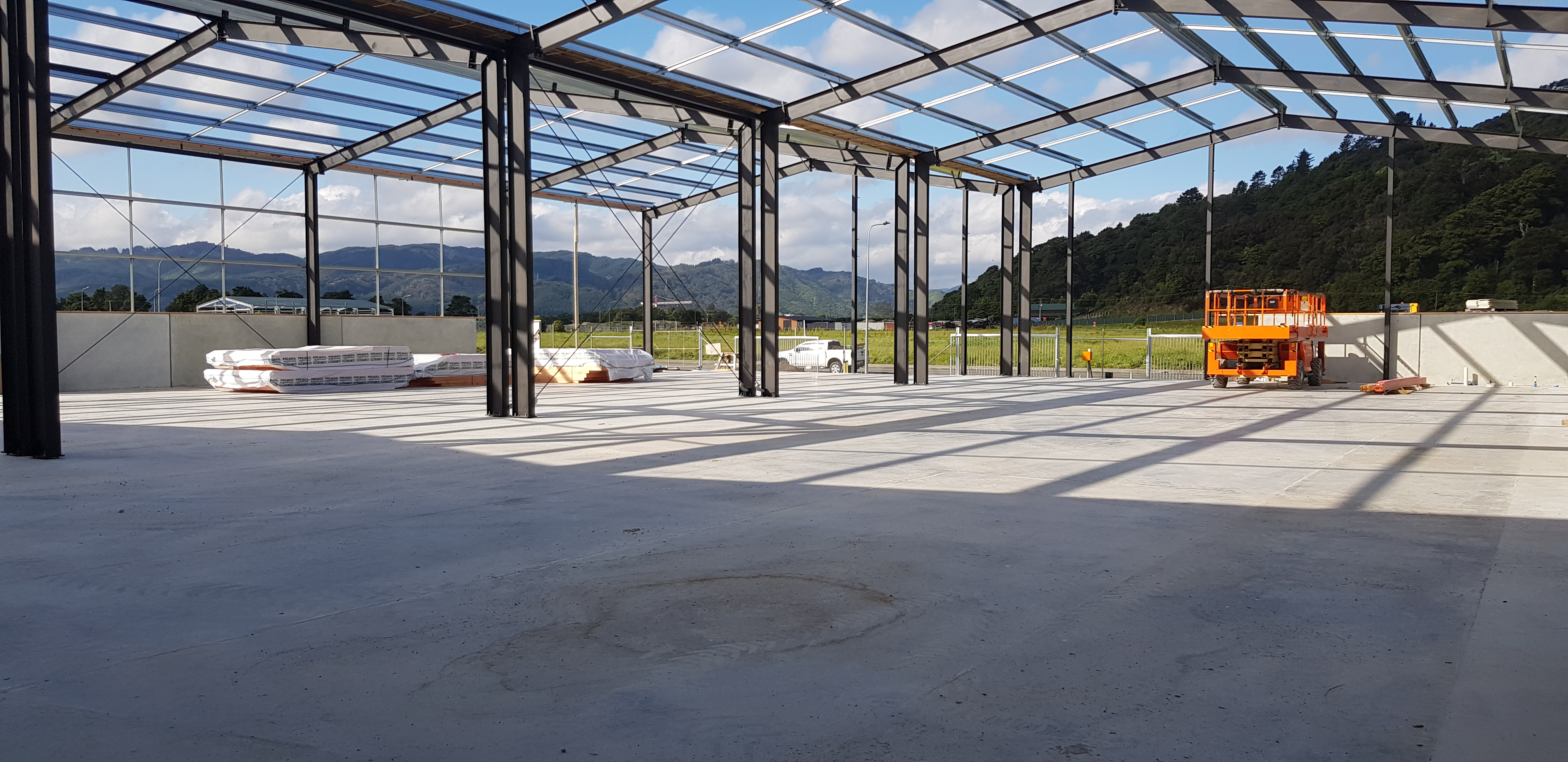 Proforce hookend steel fibre used in a foundation in New Zealand