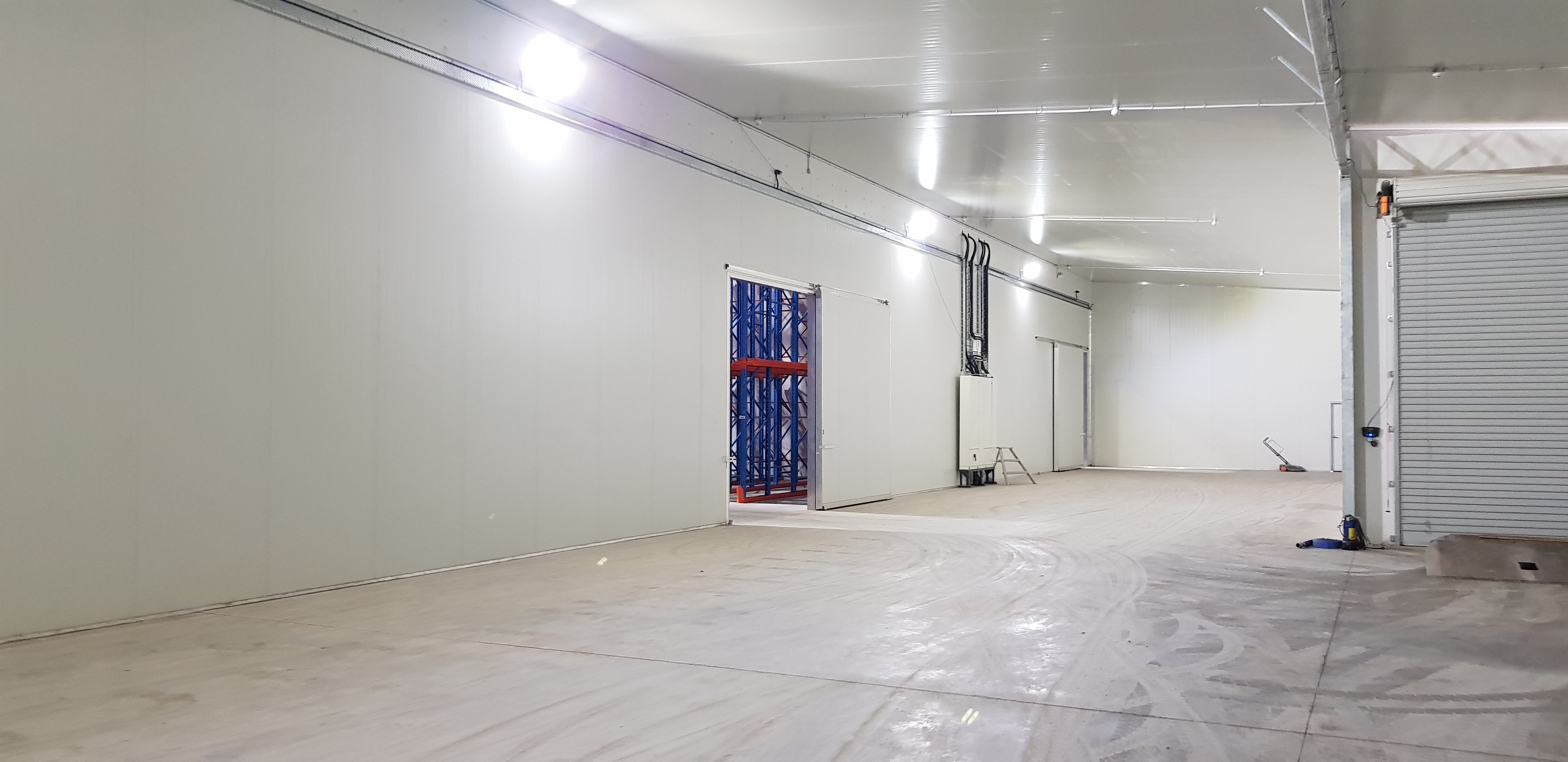 A finished coolstore slab in Nelson, NZ